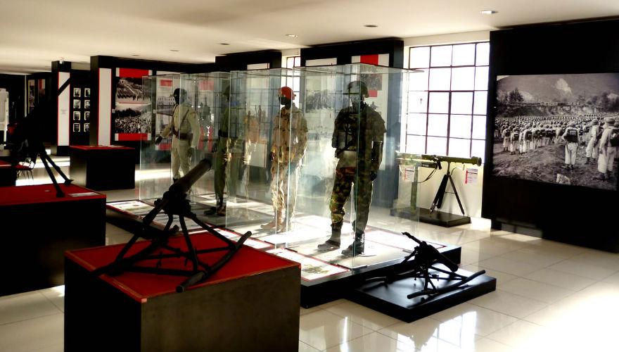 ¡Anímate a recorrer los museos del Ejército Nacional!