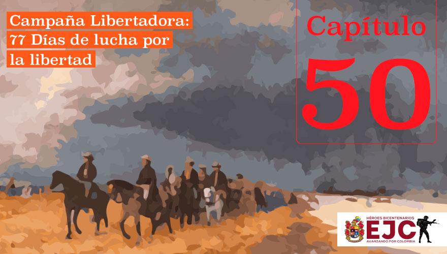 2do combate del Ejército Libertador en la peña de Gámeza y Tópaga