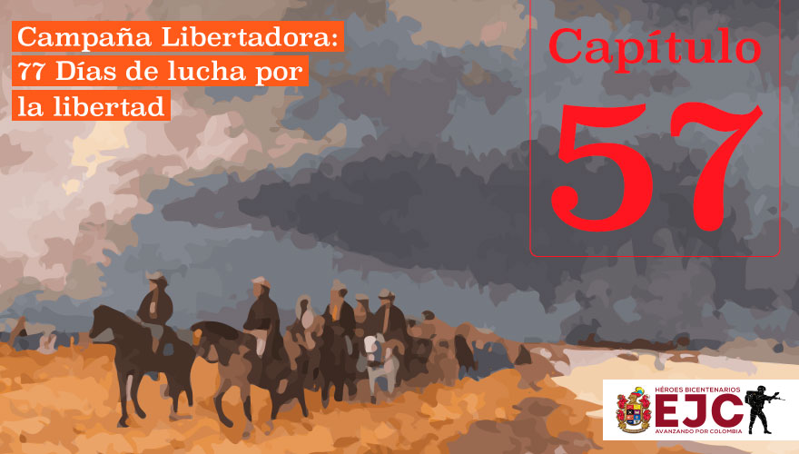 El Ejército Patriota llega a Santa Rosa De Viterbo