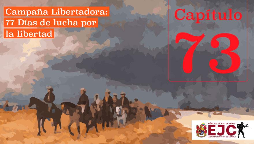 El Ejército Patriota ocupa la población de Paipa