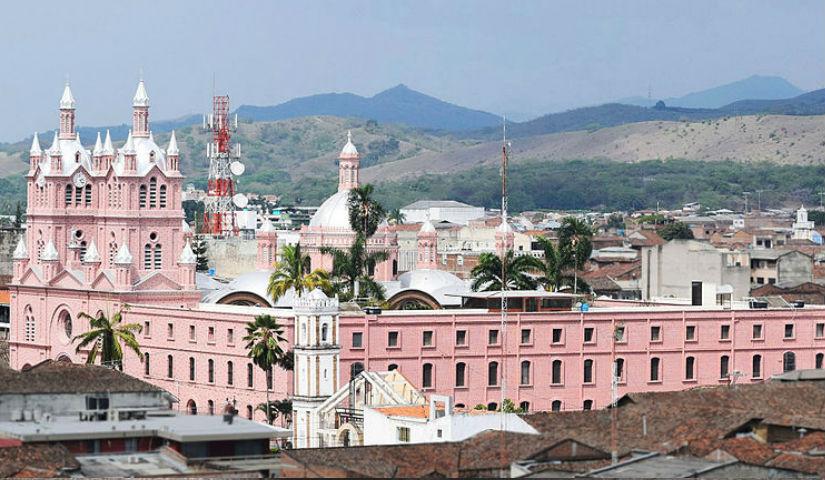 Imagen de la fachada de la Iglesia del Milagroso de Buga
