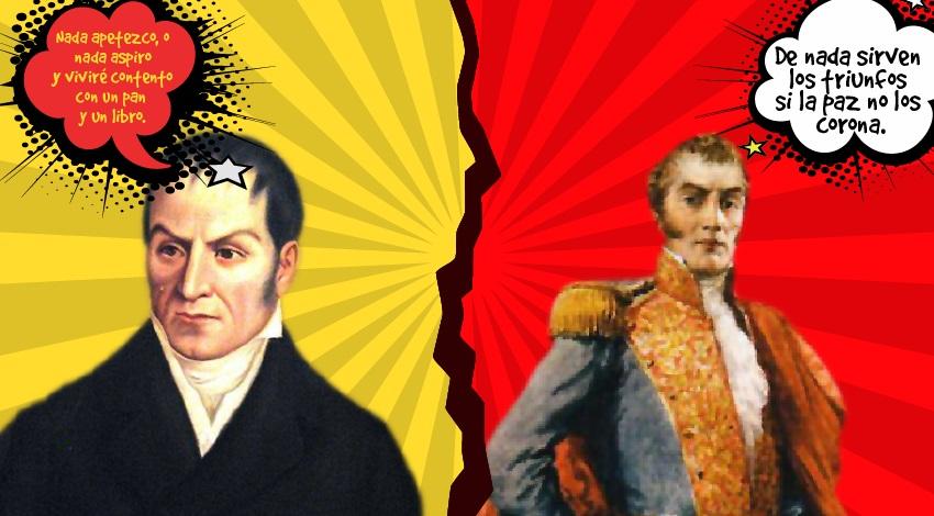 Los Hombres Protagonistas De La Independencia De Colombia