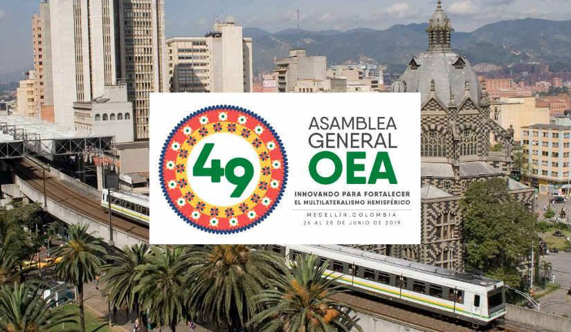 Asamblea General de la OEA en Medellín