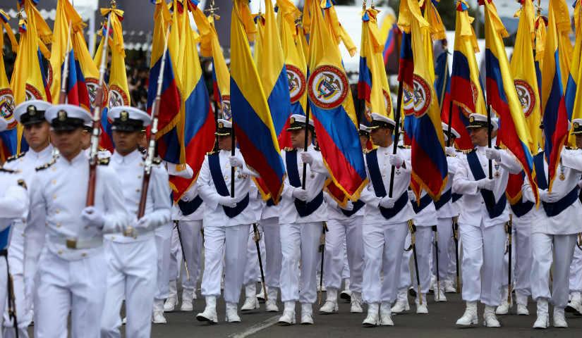 Cierres viales Desfile Militar 20 de julio
