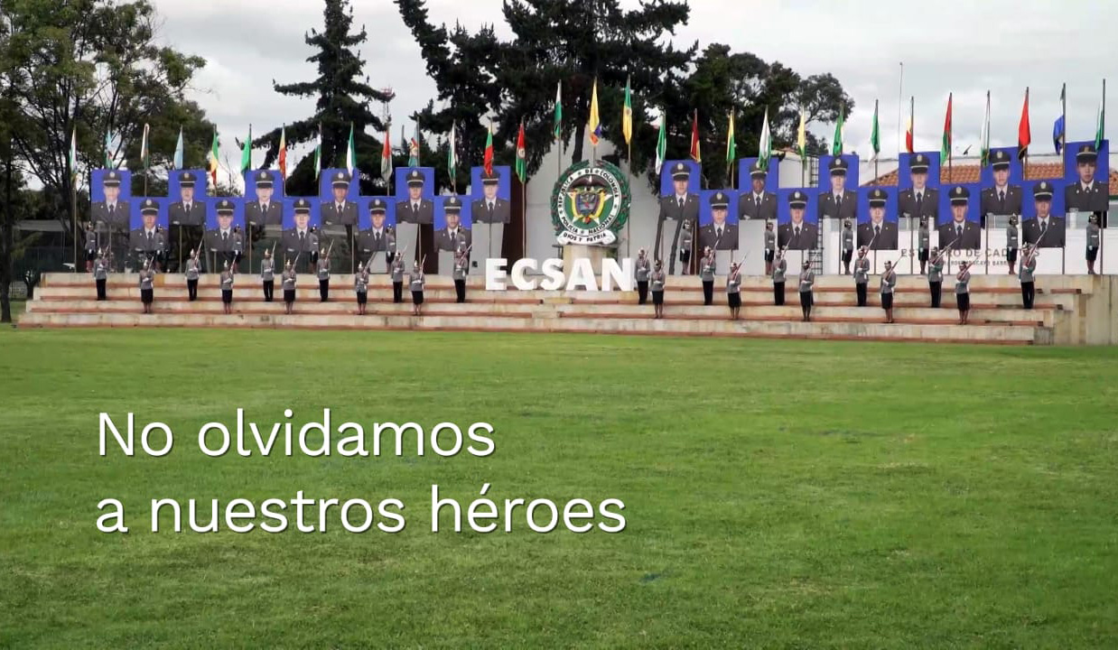 Homenaje policias