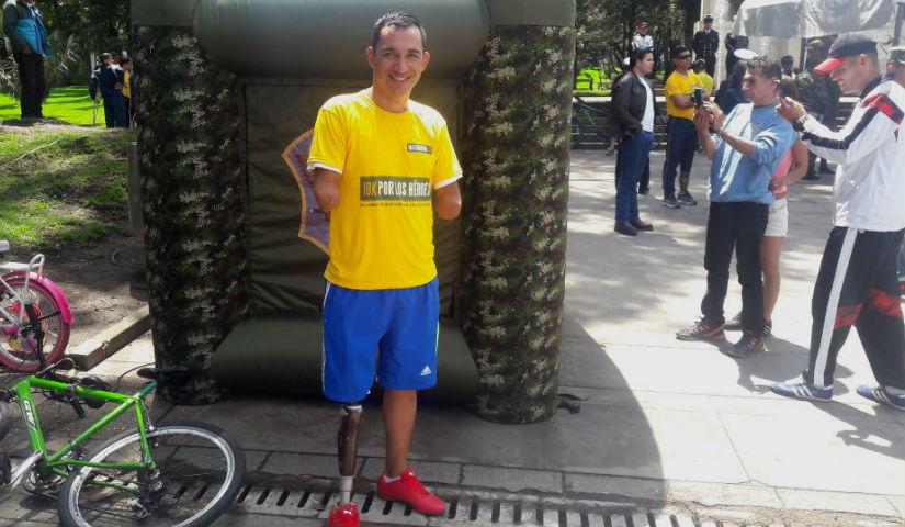 Imagen del soldado Juan Jose Florian