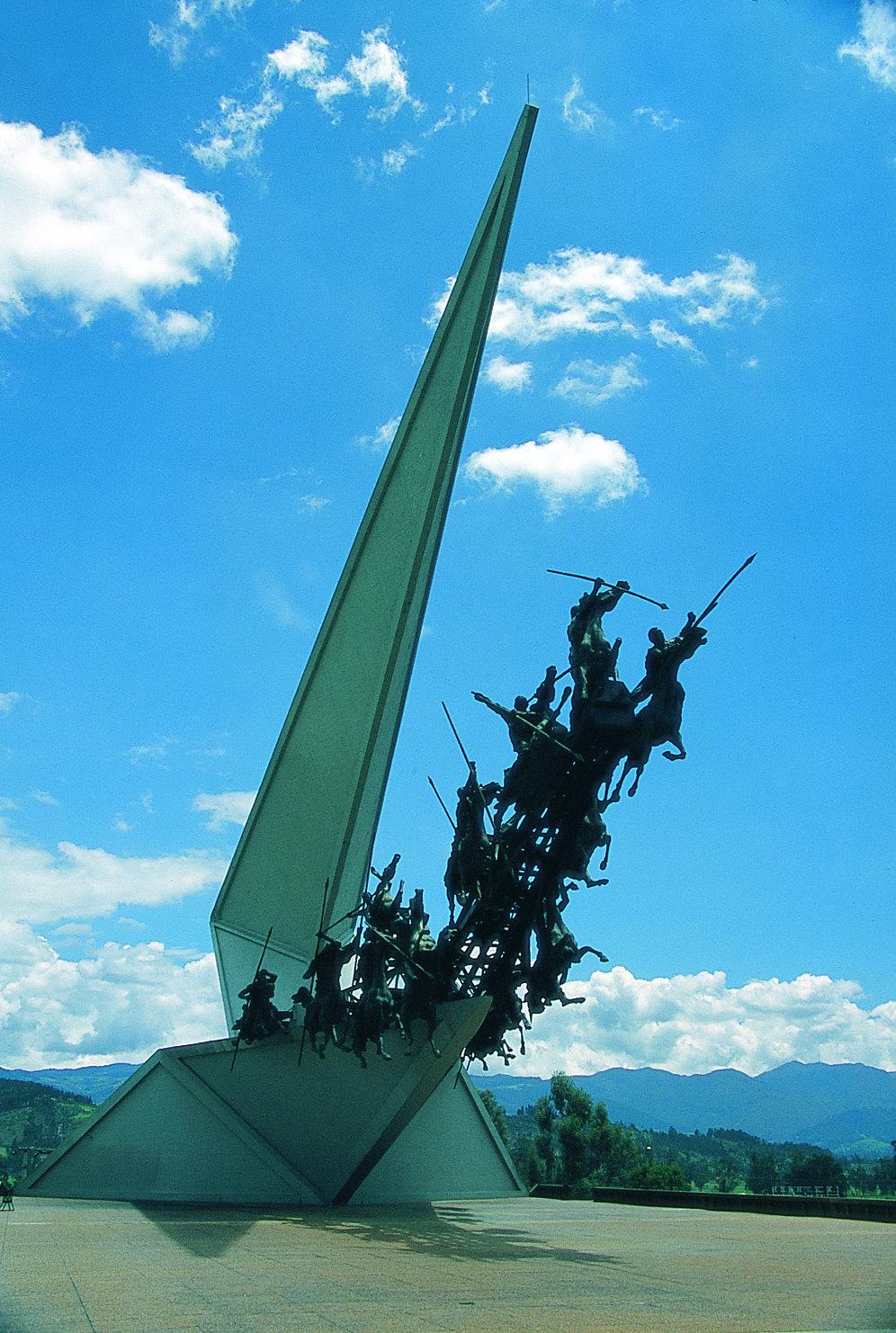 Monumento a los lanceros