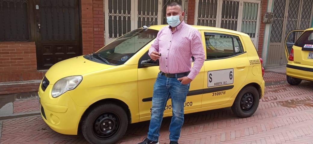 Edwin Ramírez - Taxista
