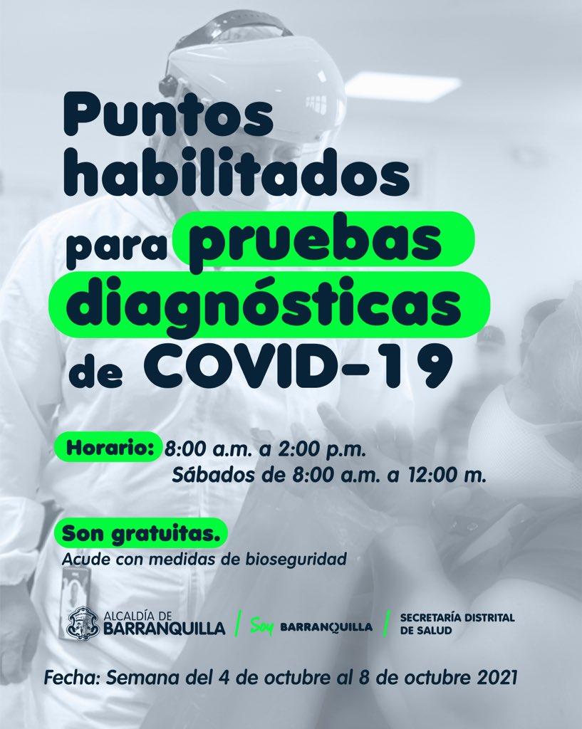 pruebas covid Barranquilla 1