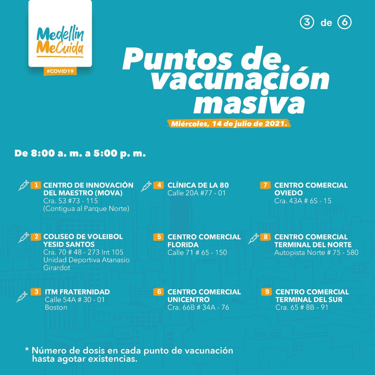 vacunación 2 medellín