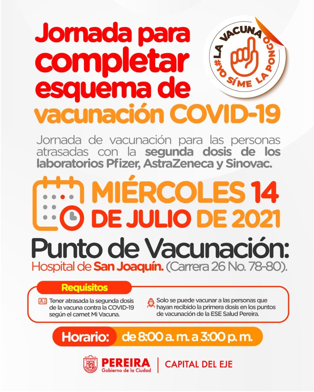 vacunación pereira