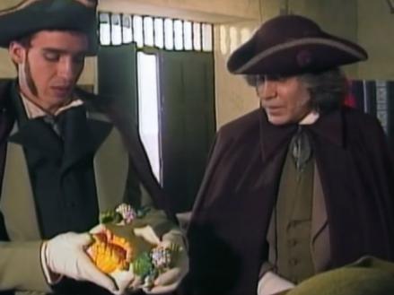 Actores de la serie recrean el episodio de el Florero de Llorente