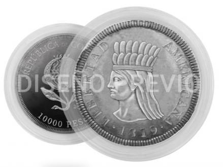 Imagen de la nueva moneda conmemorativa del Bicentenario