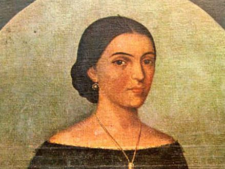 Pintura de Manuela Sanz de Santamaría