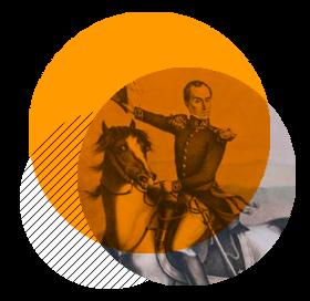 Encuentro ejércitos de Bolívar y Santander