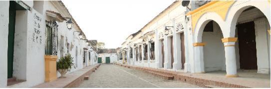 Imagen de las calles de Mompox