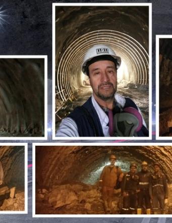 Sin ver el sol y dejando la piel: así fue trabajar en el Túnel de la Línea