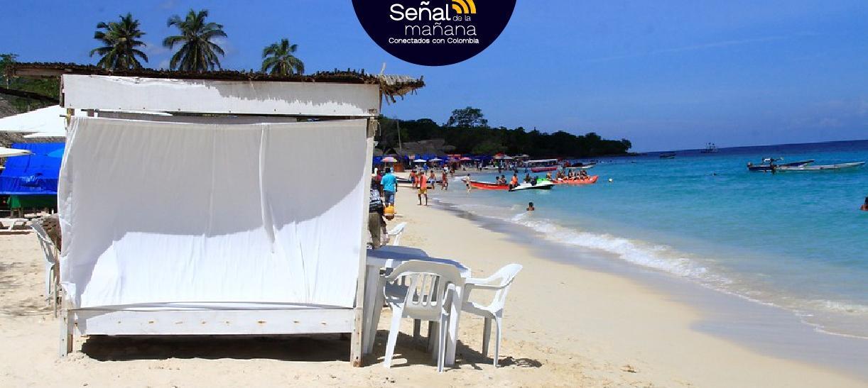 Playa Blanca es uno de los destinos turísticos por excelencia en Cartagena