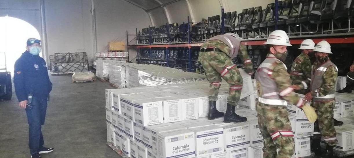 Ayudas en Providencia Huracán Iota