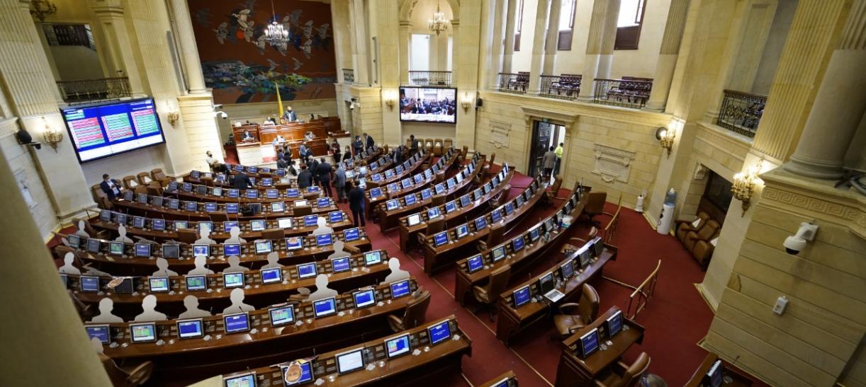Cámara de representantes Proyecto universidades