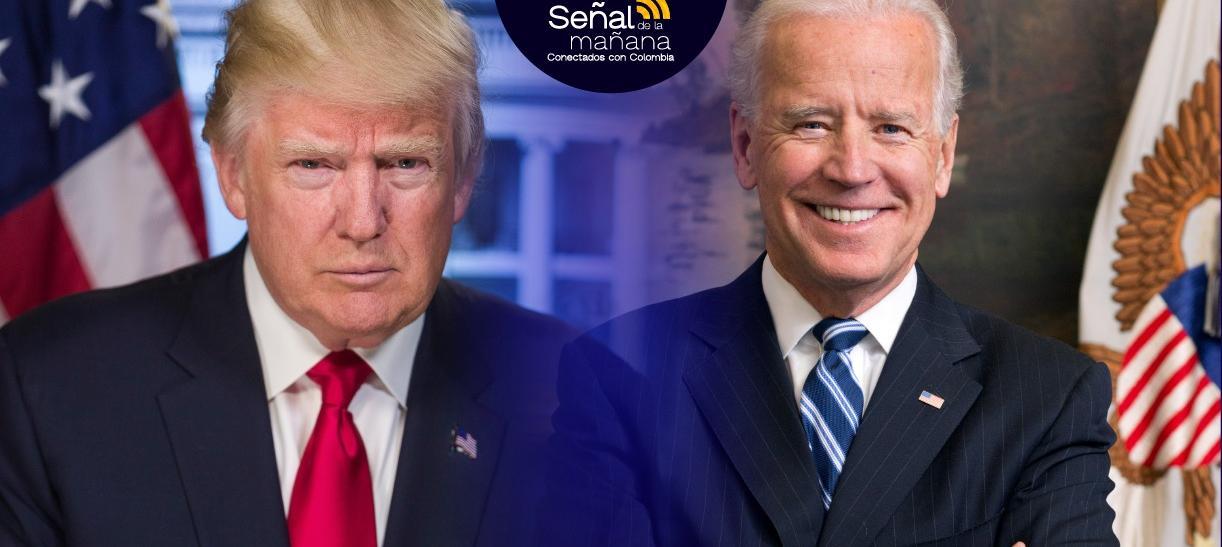 Donald Trump y Joe Biden son los candidatos de las Elecciones en Estados Unidos
