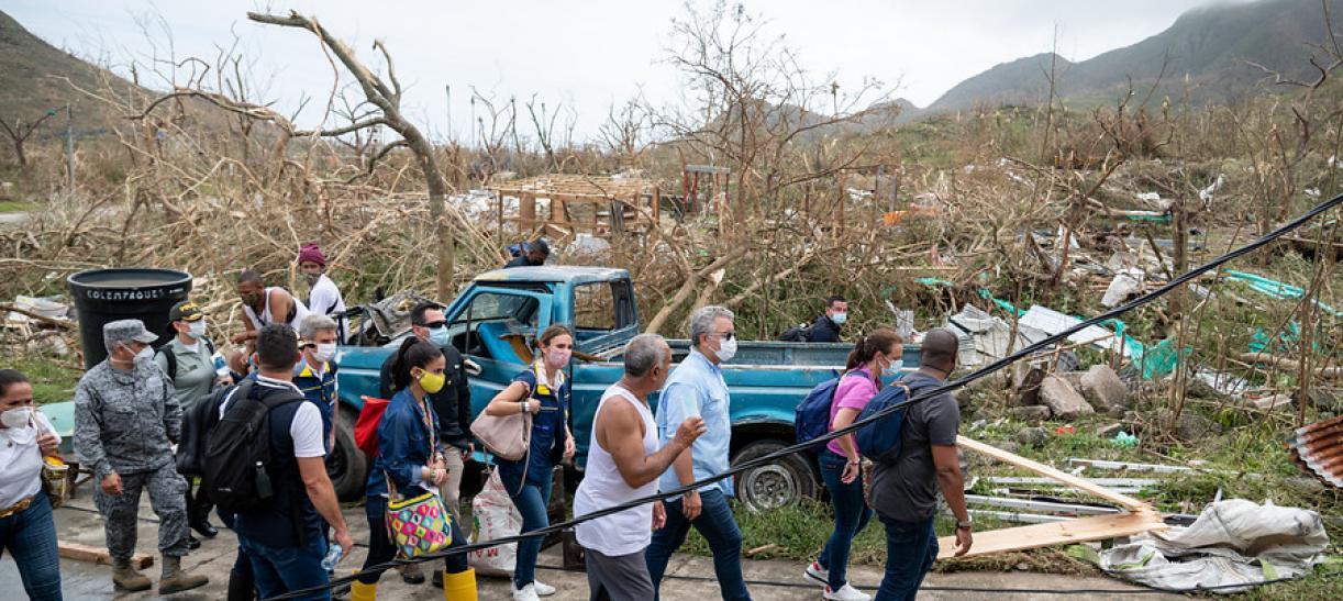 Situación de desastre en las islas
