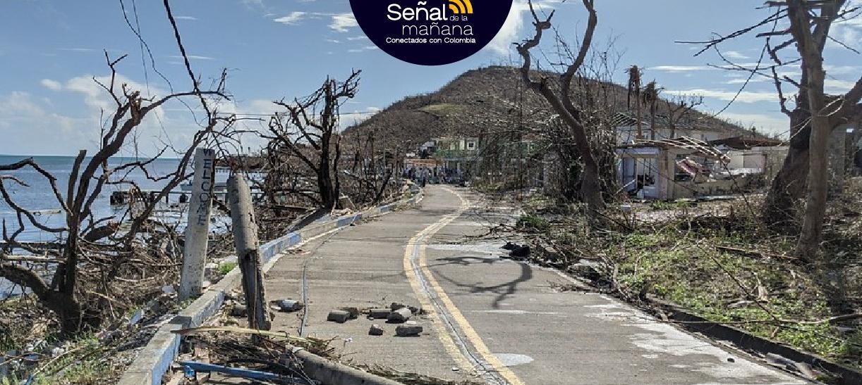 Siguen llegando las ayudas a Providencia tras la destrucción de la isla