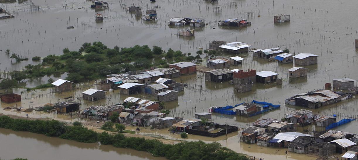San Andrés huracán Iota