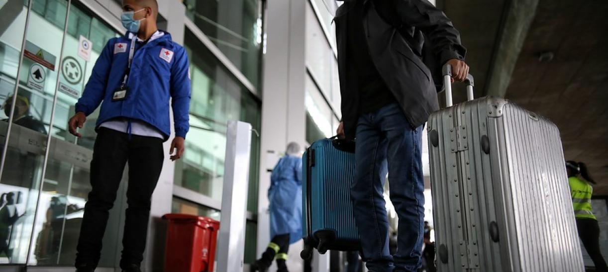 Cancelan vuelos de Colombia a Reino Unido