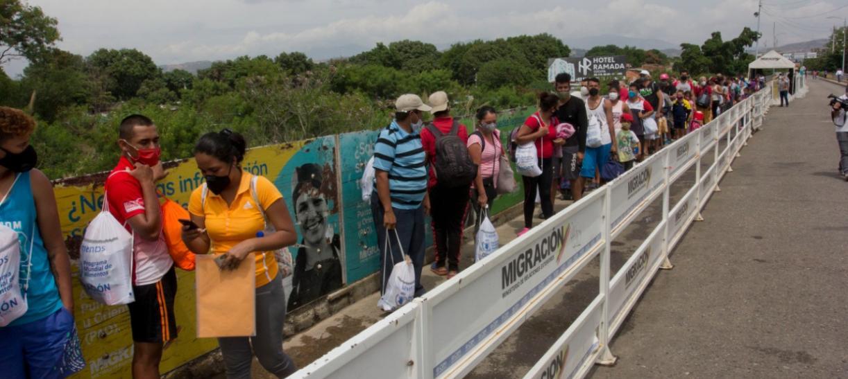 Cierre Fronterizo en Colombia