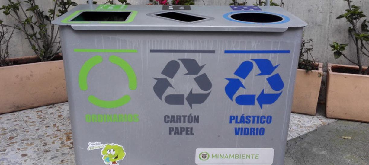 Nuevo código de colores para el reciclaje