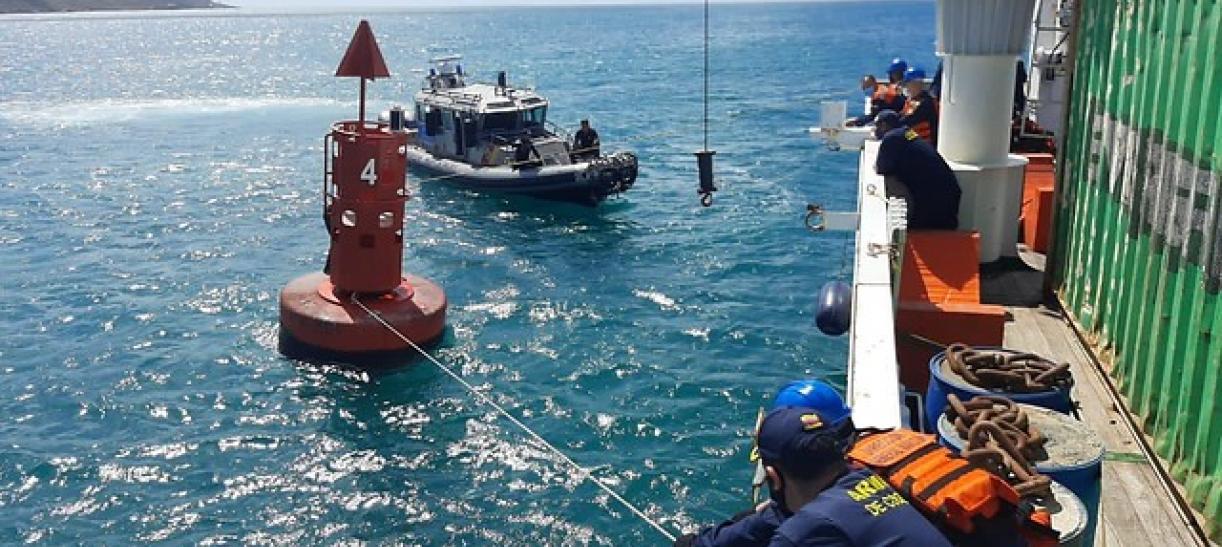 Alerta en San Andrés por olas de hasta 2.5 metros
