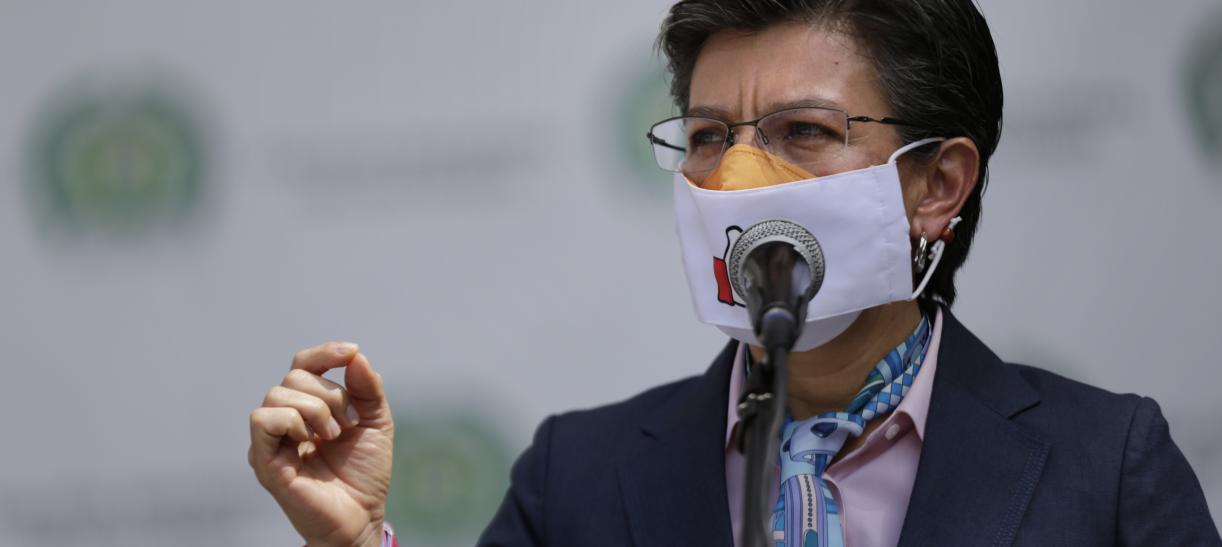 Alcaldesa de Bogotá Claudia López