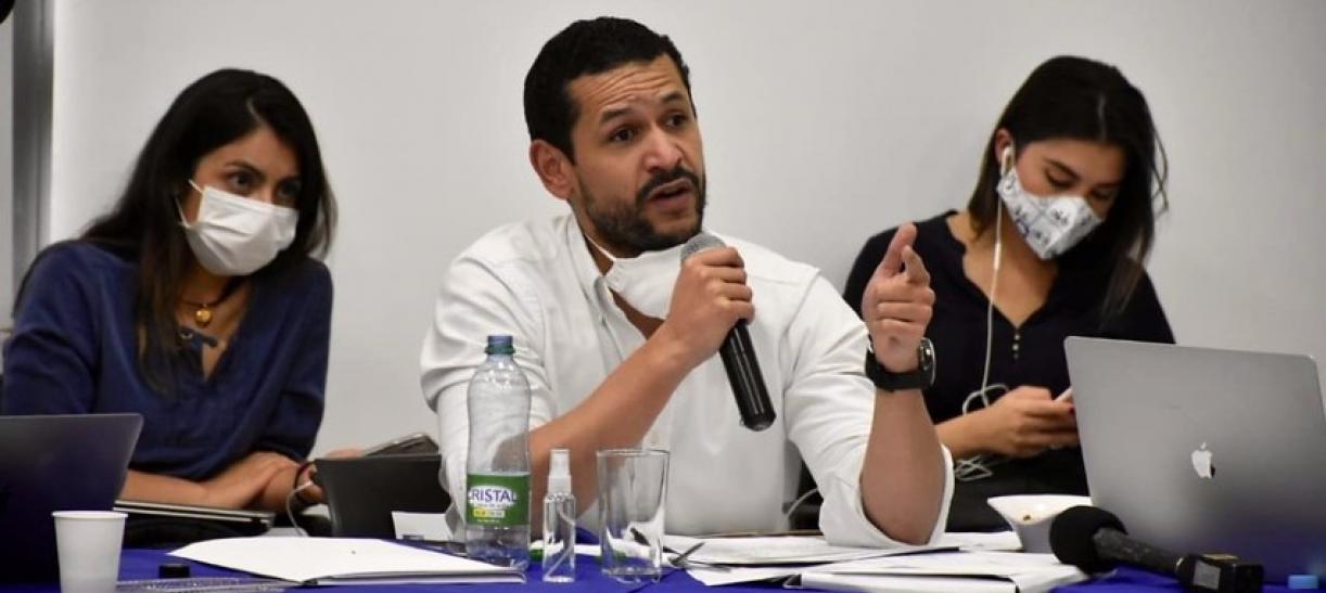 Daniel Palacios fue nombrado por el presidente Duque como minsitro del Interior