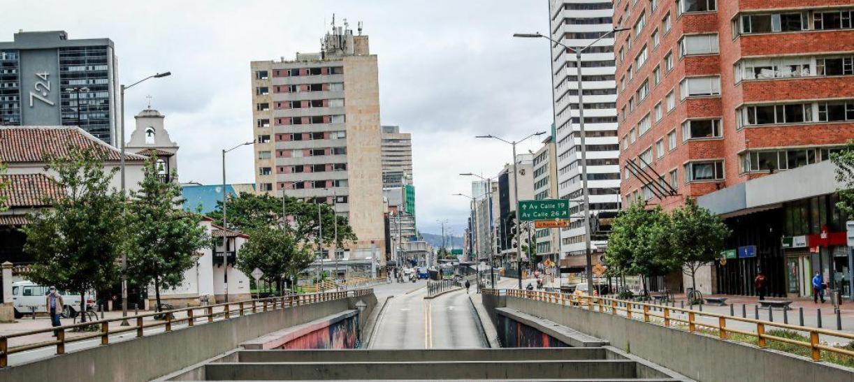Cuarentena en Bogotá Fin de semana