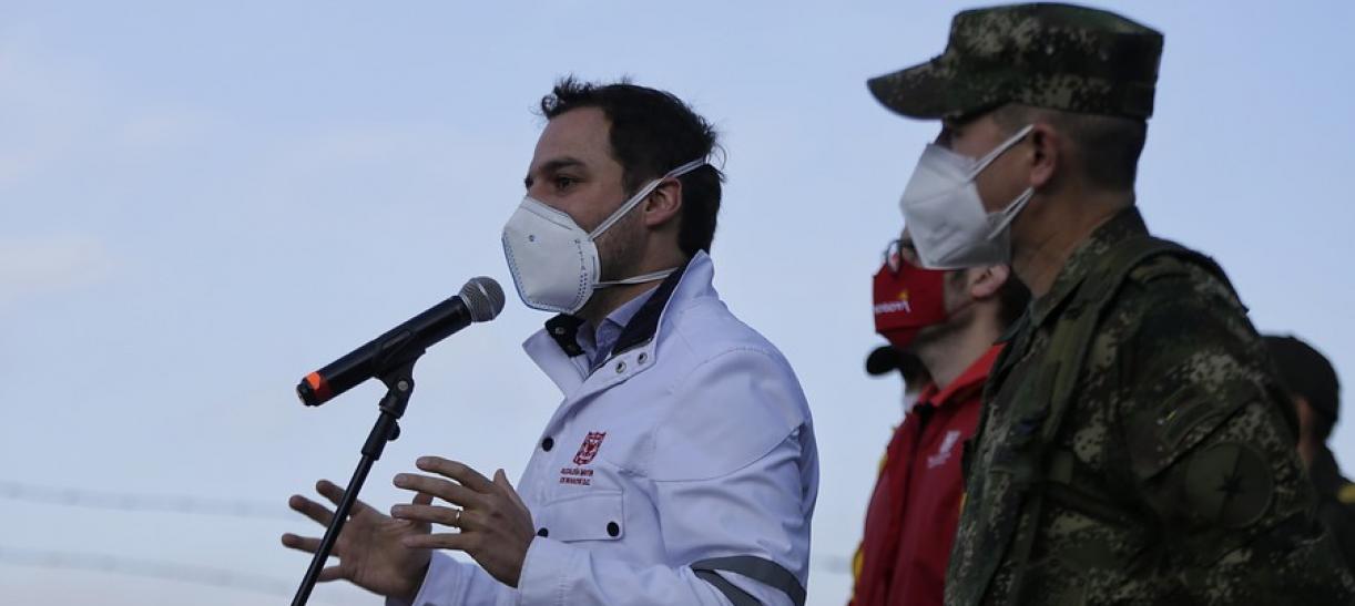Cuarentena en tres localidades de Bogotá récord de contagios