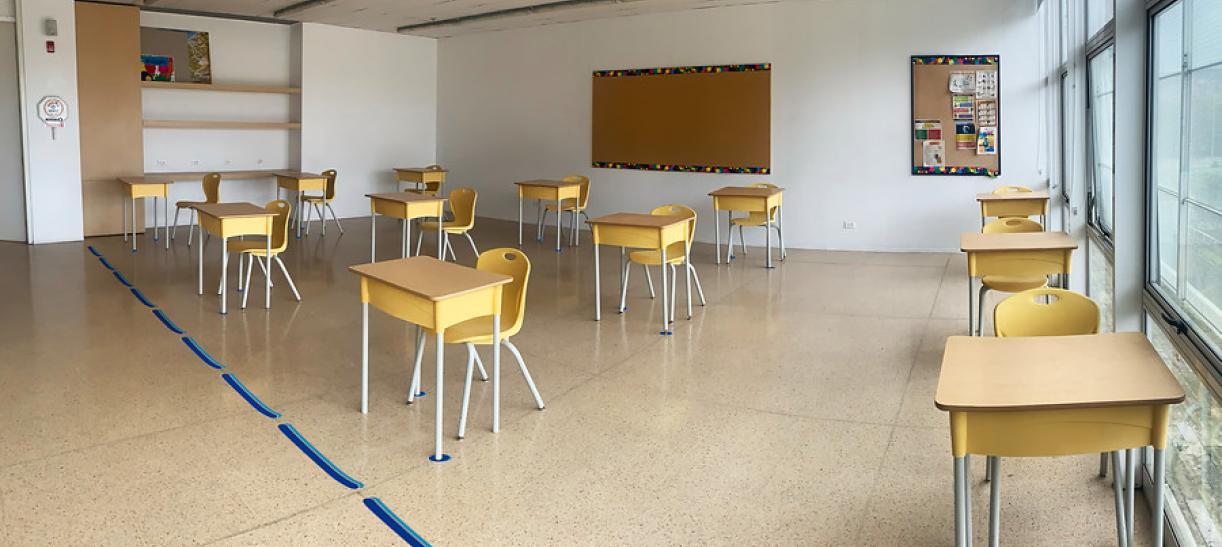Regreso a clases Bogotá Colombia