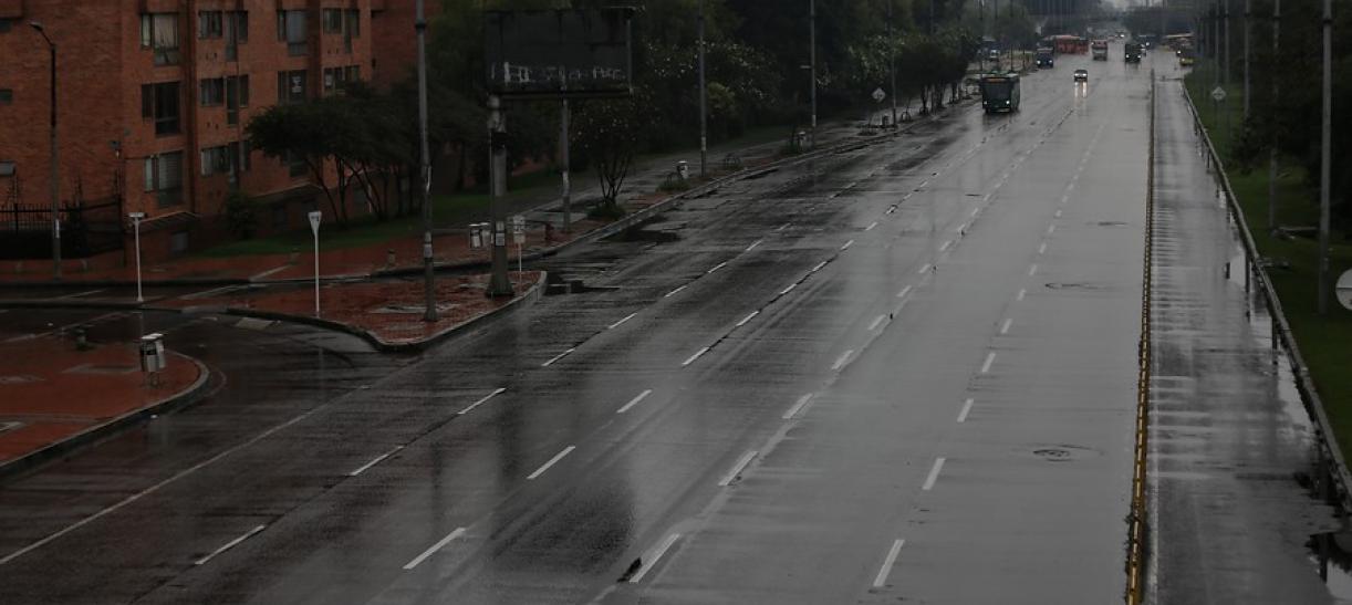 Toque de queda total en Antioquia