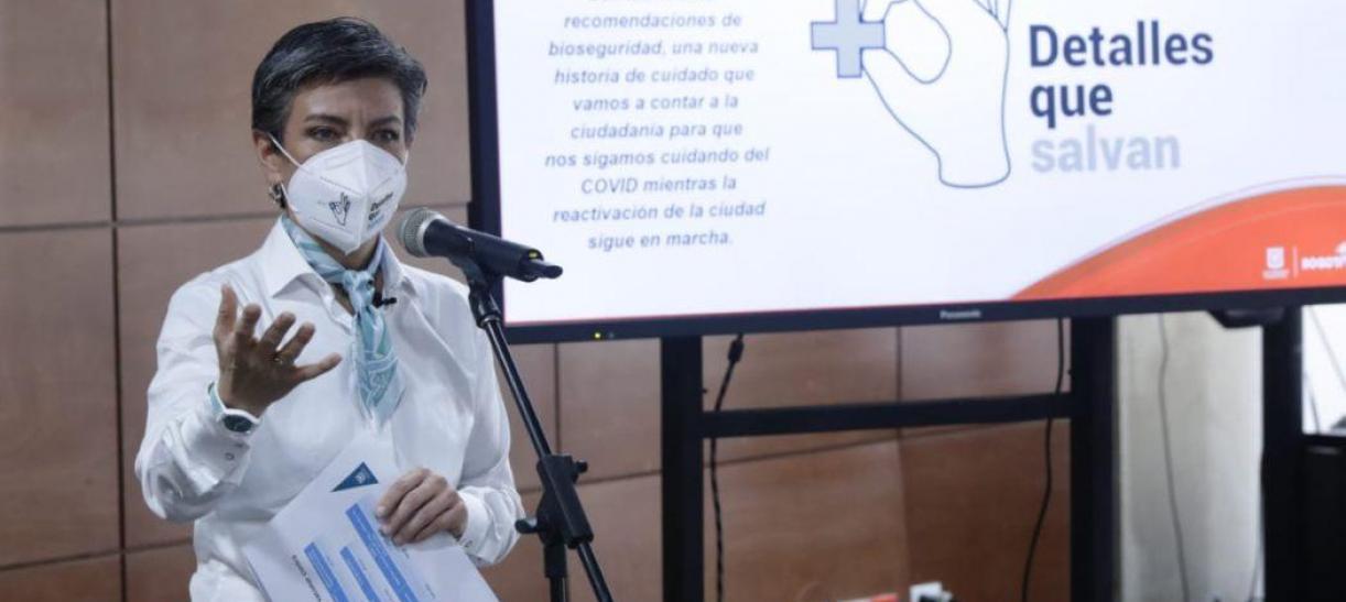 Claudia López confirma cuántas vacunas llegarán a Bogotá