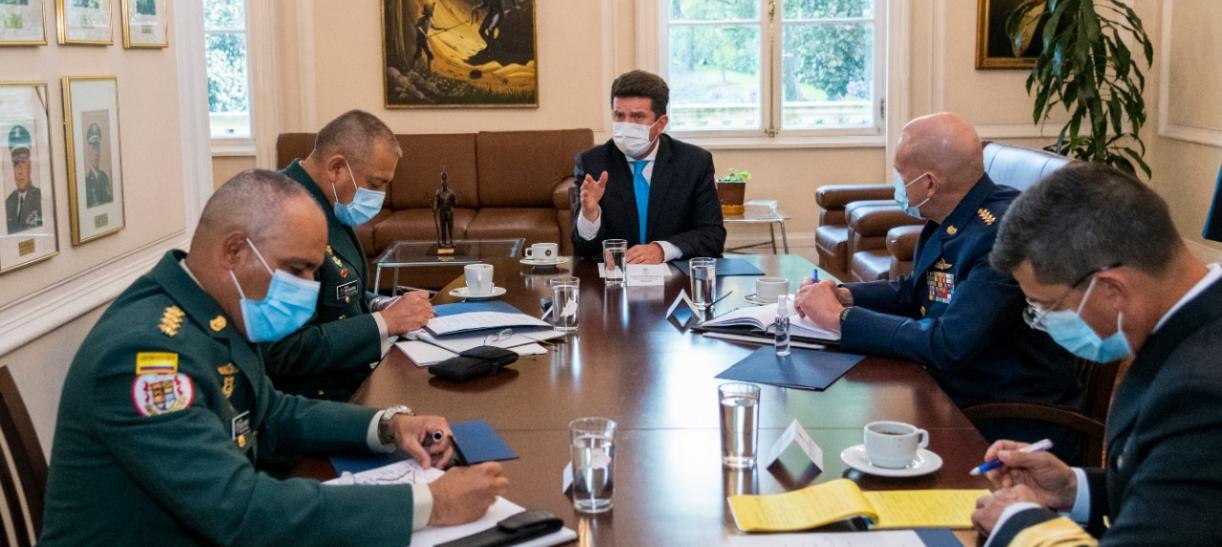Funciones del Ministerio de Defensa