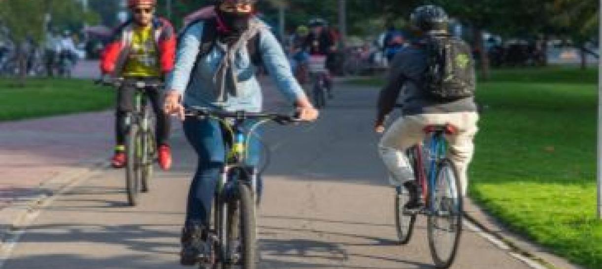 Servicio social en ciclovía