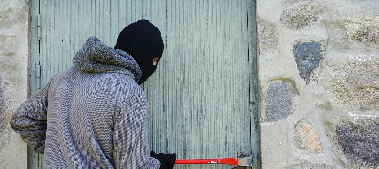Ladrones marcan las casas