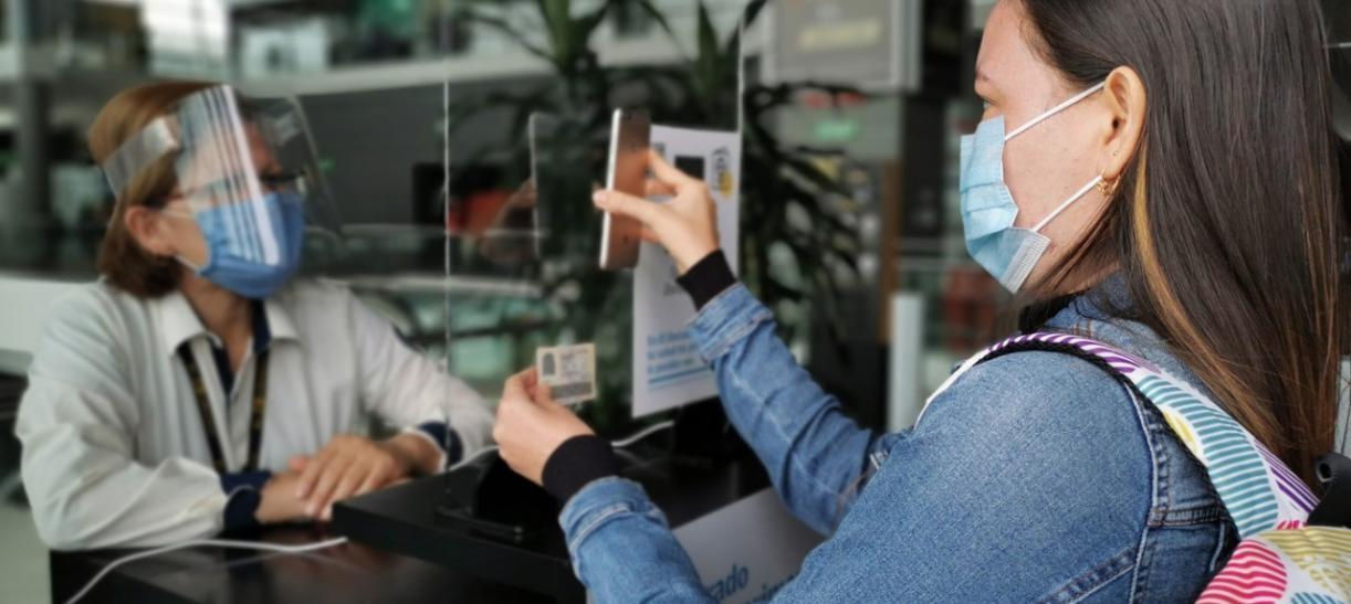 medidas en aeropuertos de Colombia
