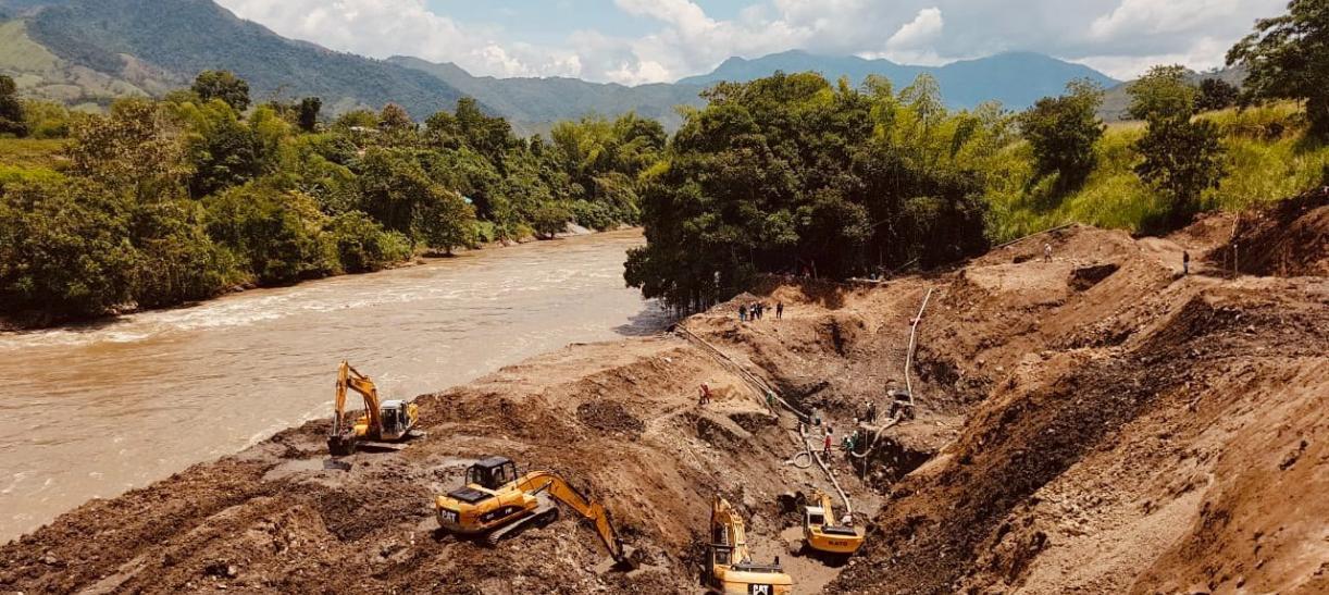 Rescate de mineros en Caldas