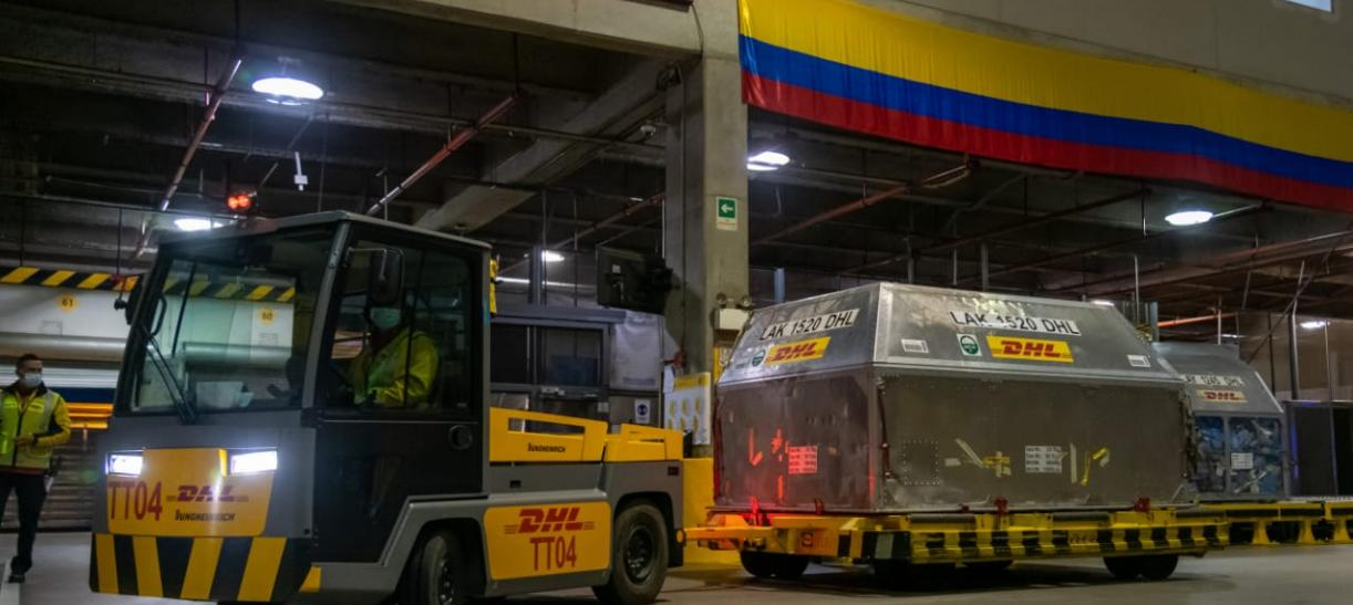 vacunas que han llegado a Colombia