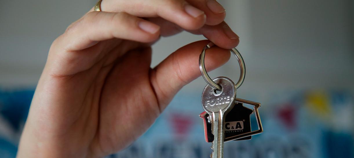 Comprar casa nueva - llaves