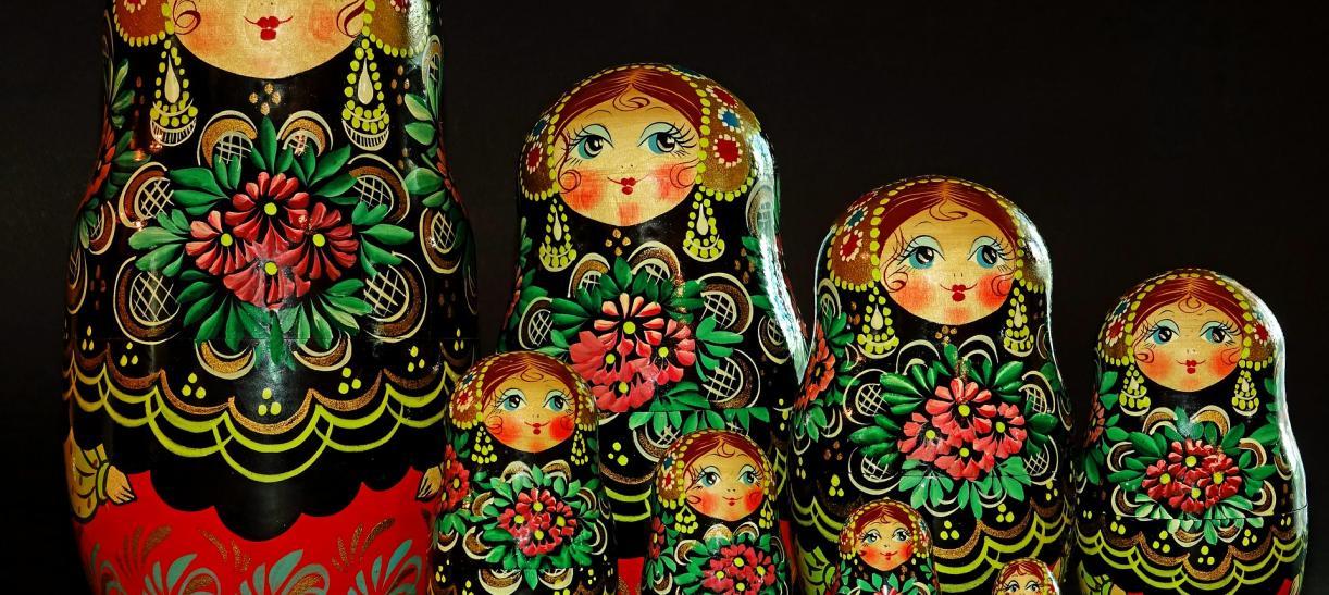 Matrioskas muñecas rusas Así es la vuelta