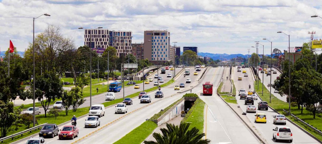 Suspenden pico y placa en Bogotá