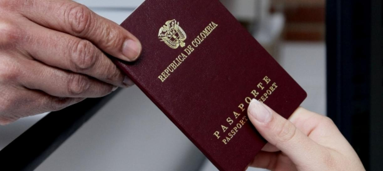 citas pasaporte colombiano