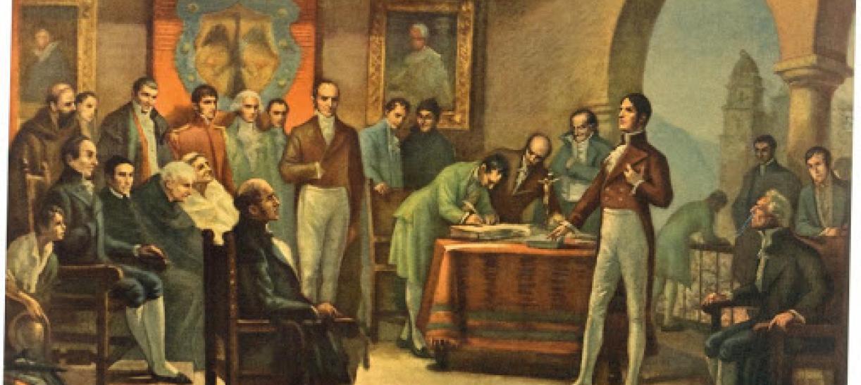 ¿Qué pasaba en Colombia en 1819?